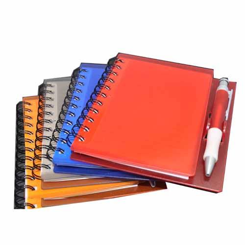 Caderno de Anotações Colorido para Brinde
