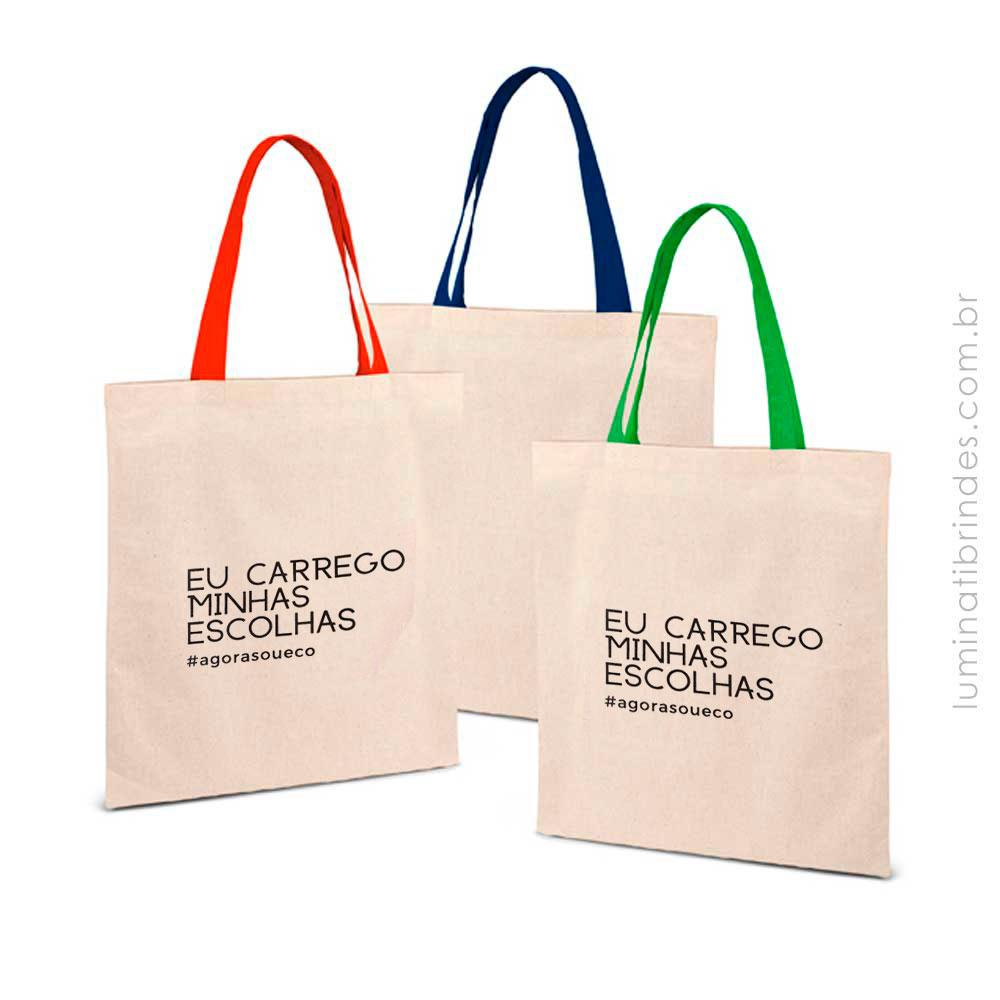 Ecobag Colorida Personalizada