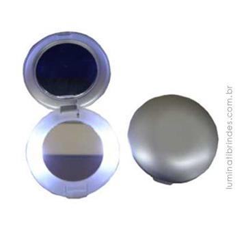 Espelho de Bolsa com Iluminação para Brinde