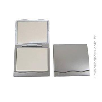 Espelho de Bolsa Quadrado e Personalizado