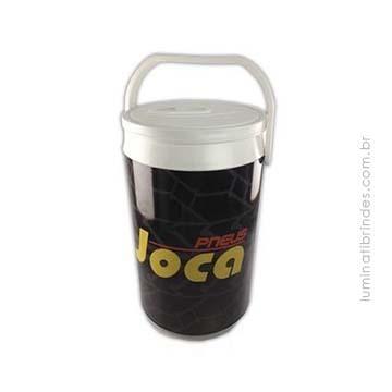 Ice Cooler Para Brinde térmico com capacidade de 4 litros (6 latas).