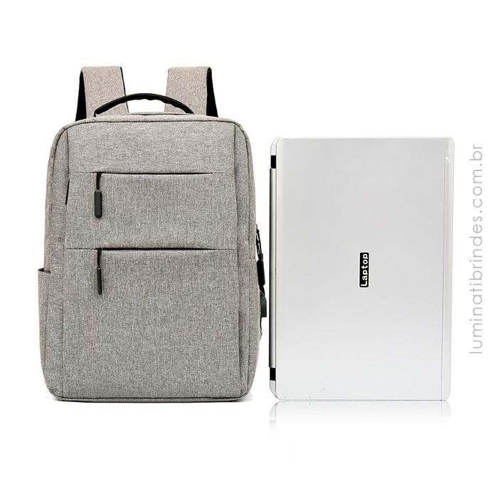 Mochila Loggi USB Confort