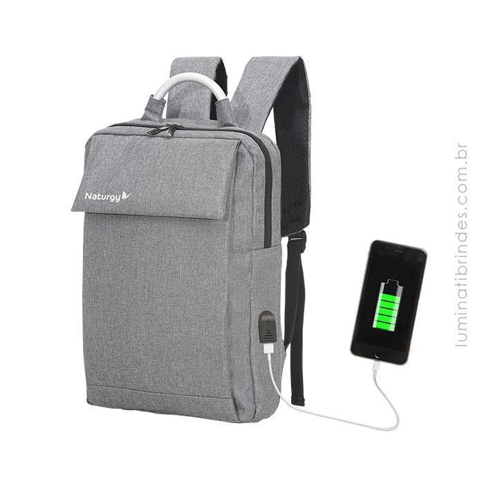 Mochila USB Traveller Executiva