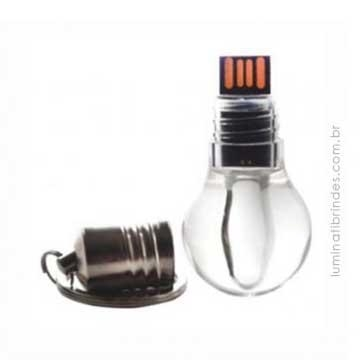 Pendrive Lâmpada para Brinde