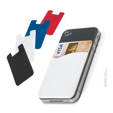 Porta Cartões Smartfone em PVC Para Brinde