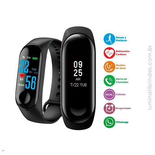 Smartwatch Relógio de Pulso Digital