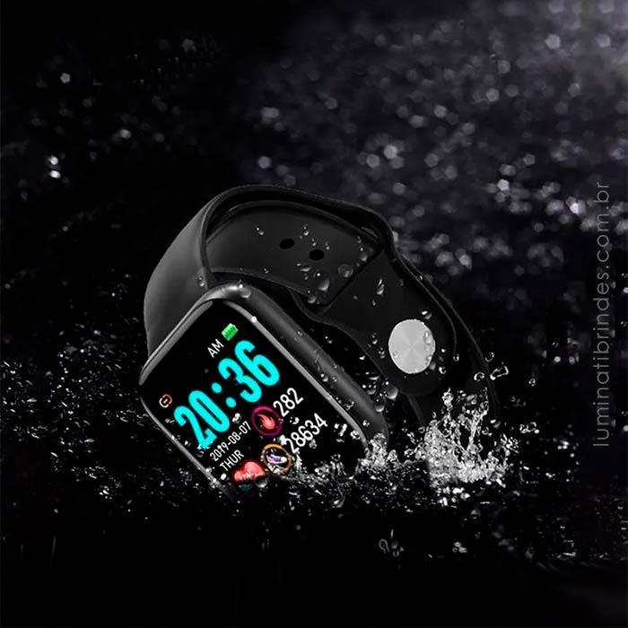 Smartwatch Black Square Personalizado